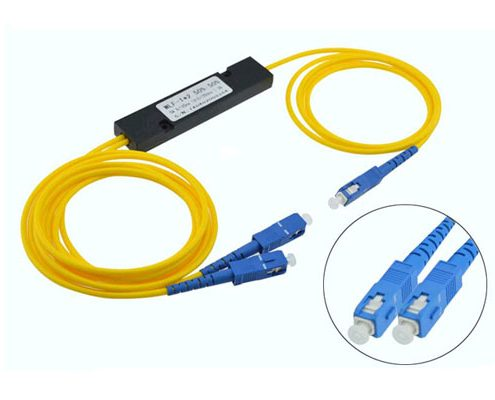 FTTH ABS Black Box PLC Splitter
