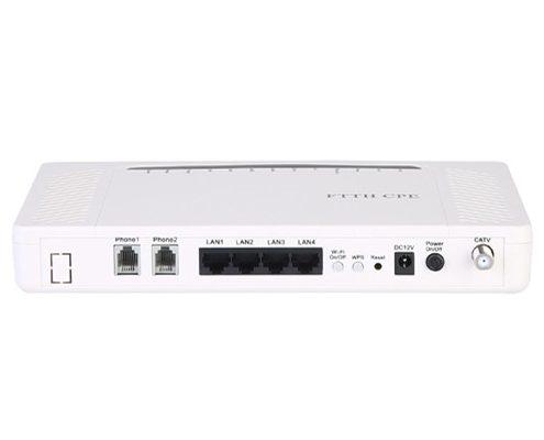 4GE+2POTS+WiFi+CATV(RF) GEPON & EPON ONU YL2800EW