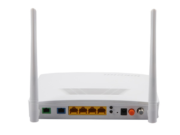 4GE/FE+WiFi+RF(CATV) GEPON / EPON ONU Double Fiber Model YL2804WT